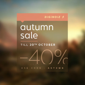 Diginoiz Autumn Sale