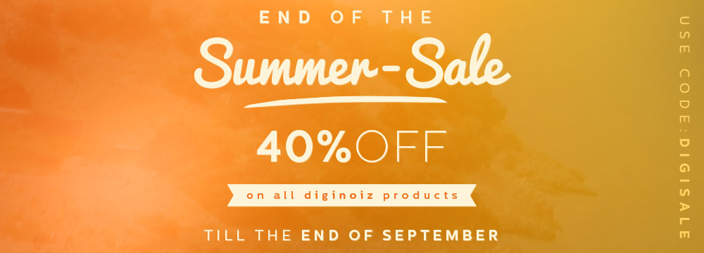 End Of The Summer – Sale!
