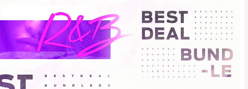Best Deal Bundle – R&B!