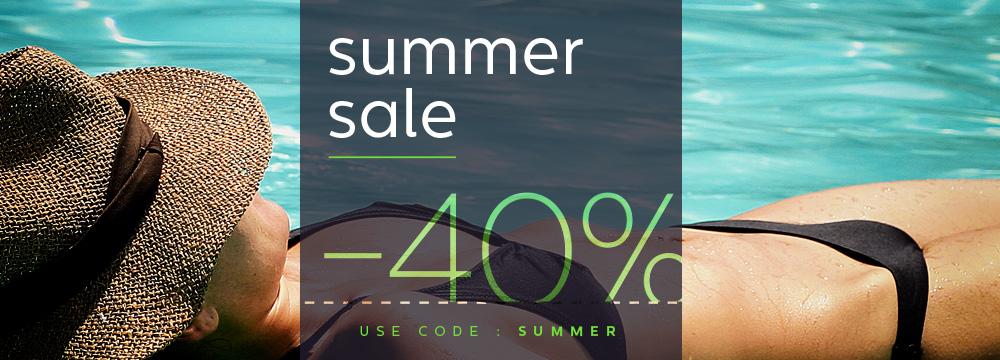 Diginoiz Summer Sale / 40% OFF / Use code: summer