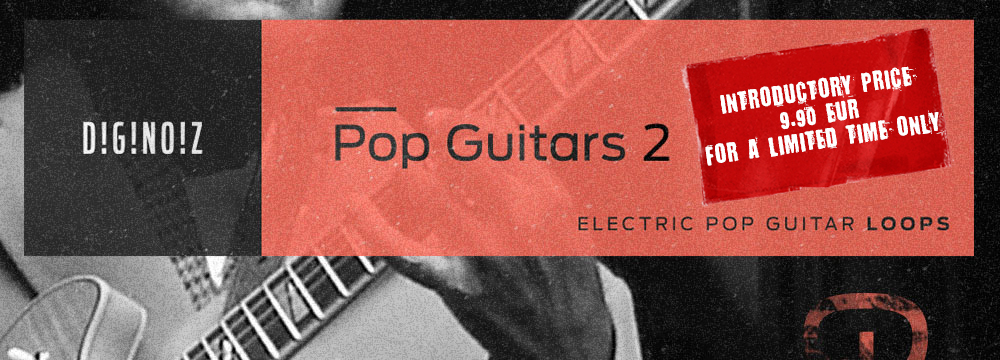 Diginoiz Pop Guitars 2 – Introductory Price! Only 9.90 For 48 Hours!