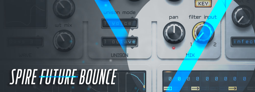 Spire Future Bounce – 64 House Spire Presets!